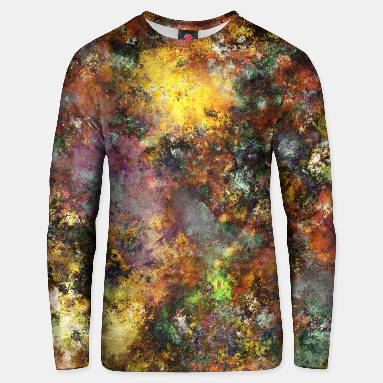 Image of Above ground Unisex sweater - Live Heroes
