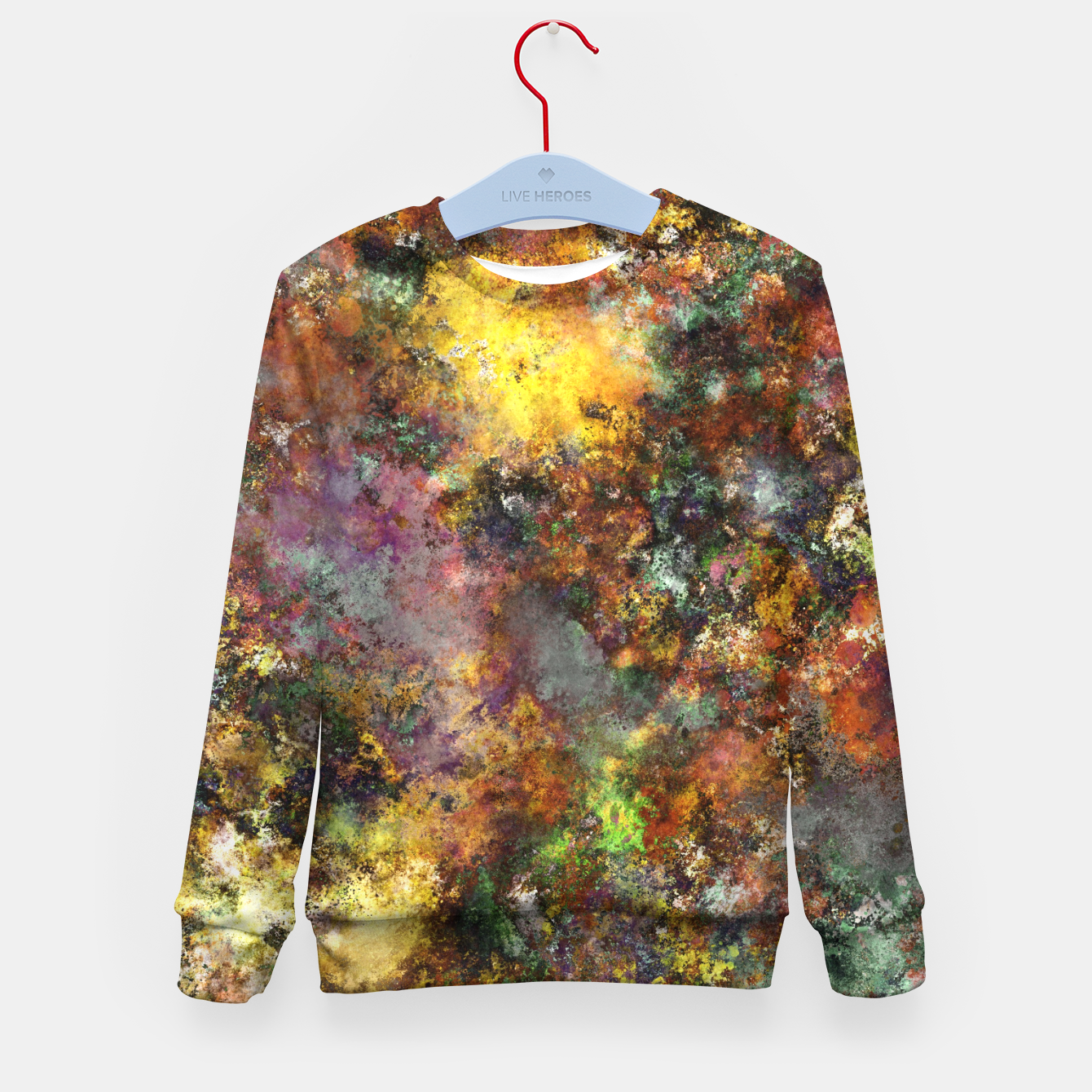 Image of Above ground Kid's sweater - Live Heroes