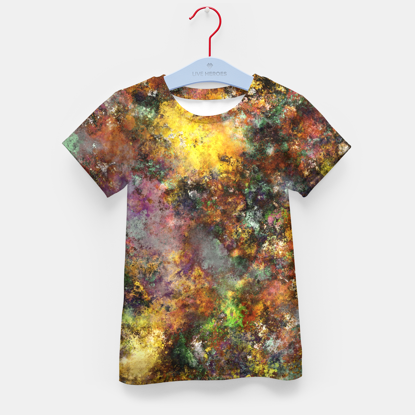 Image of Above ground Kid's t-shirt - Live Heroes