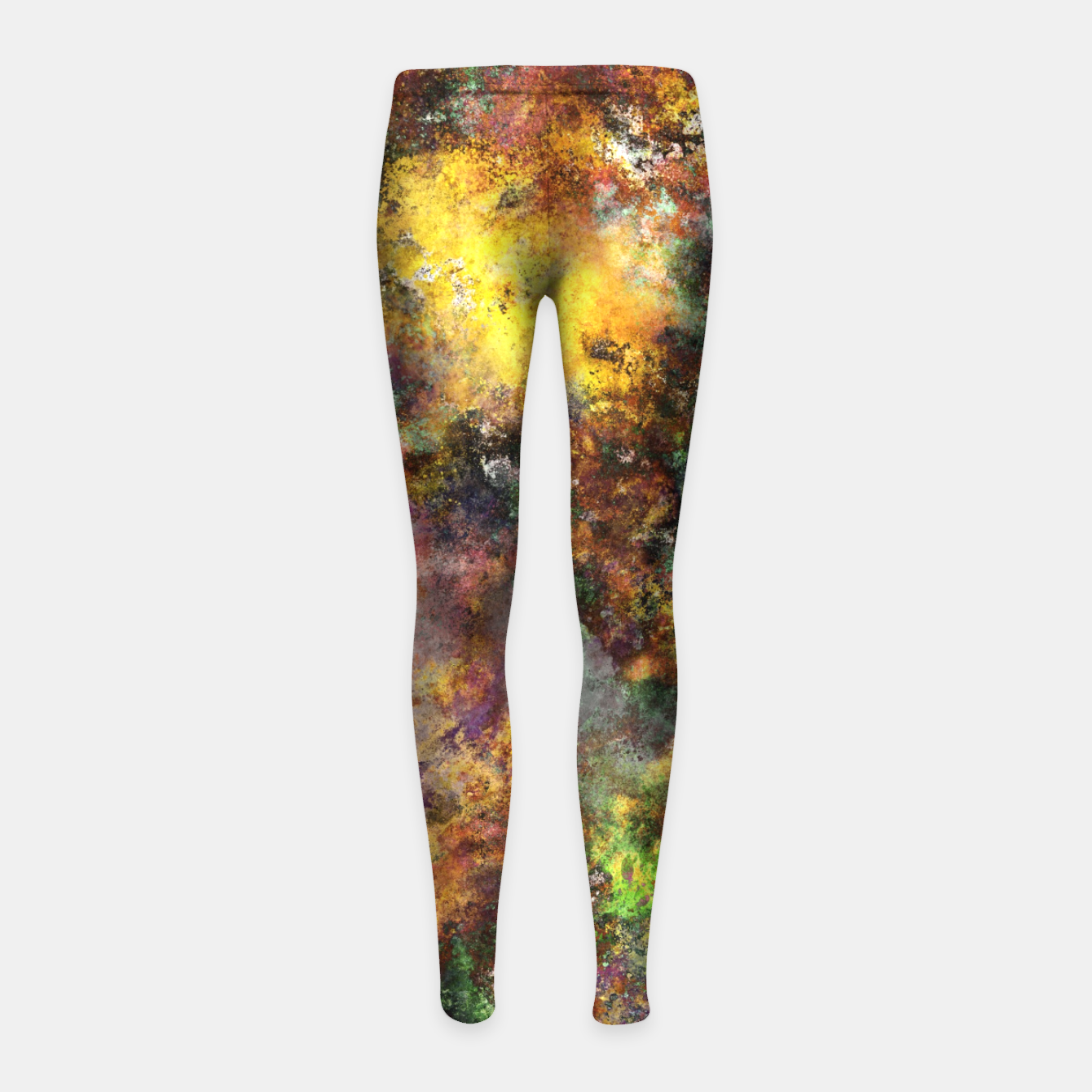 Image of Above ground Girl's leggings - Live Heroes