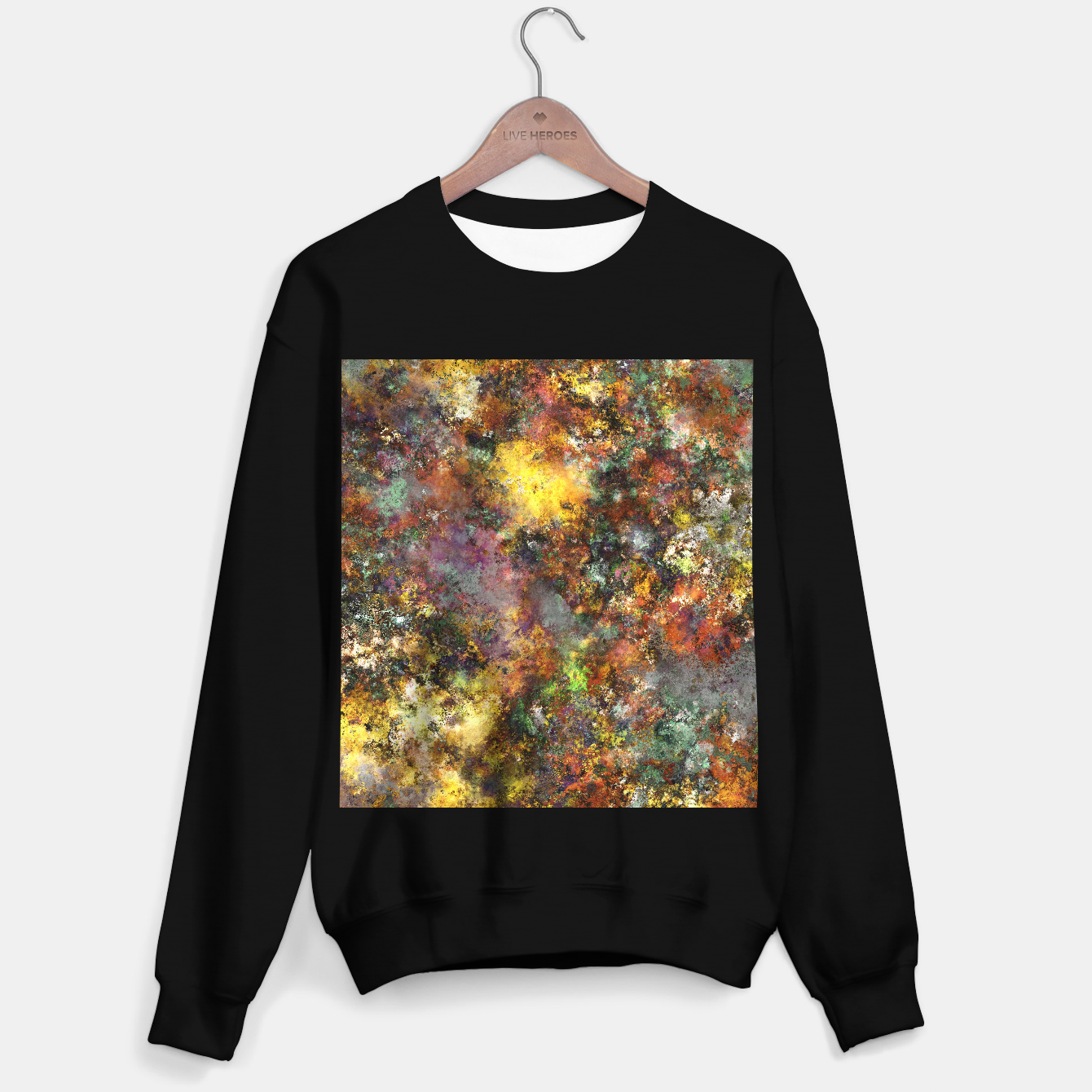 Image of Above ground Sweater regular - Live Heroes