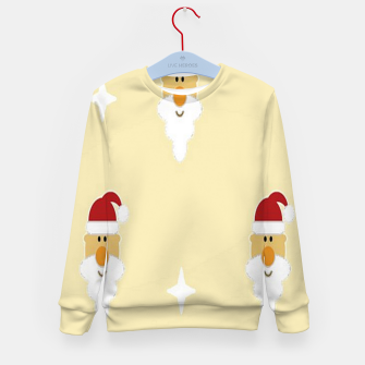 Thumbnail image of Santa Claus faces Kid's sweater, Live Heroes