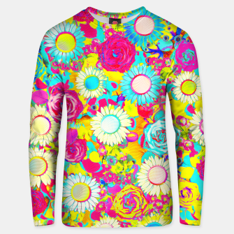 Thumbnail image of Colored Garden Unisex sweater, Live Heroes