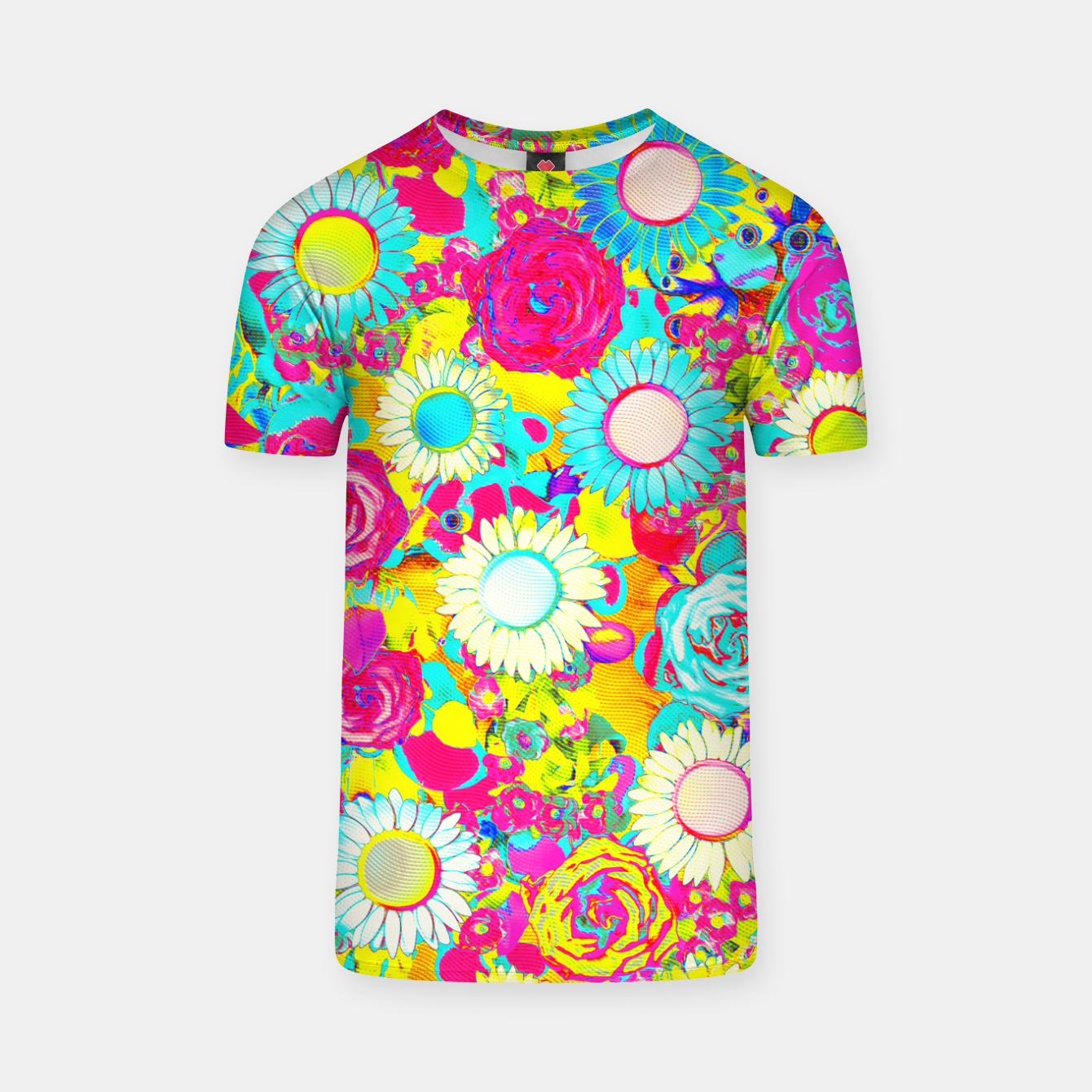 Image of Colored Garden T-shirt - Live Heroes