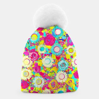 Thumbnail image of Colored Garden Beanie, Live Heroes