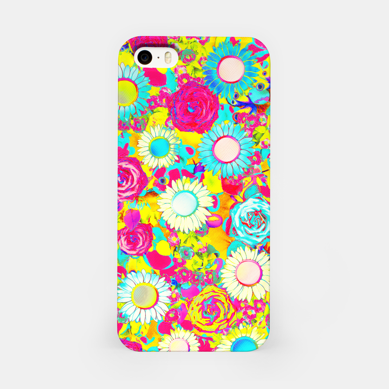 Image of Colored Garden iPhone Case - Live Heroes