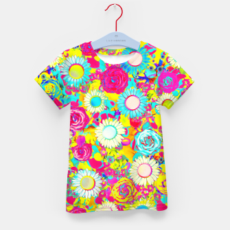 Thumbnail image of Colored Garden Kid's t-shirt, Live Heroes