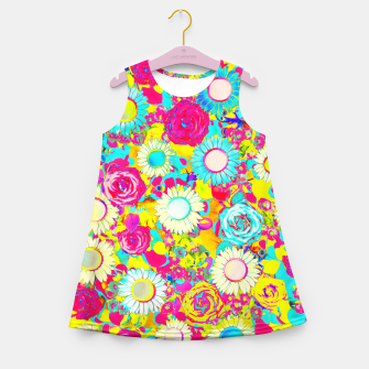 Thumbnail image of Colored Garden Girl's summer dress, Live Heroes