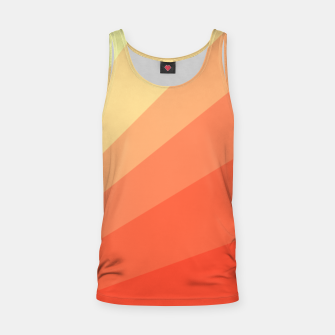 The Sun is rising, abstract sun rays print in soft colors  Tank Top thumbnail image