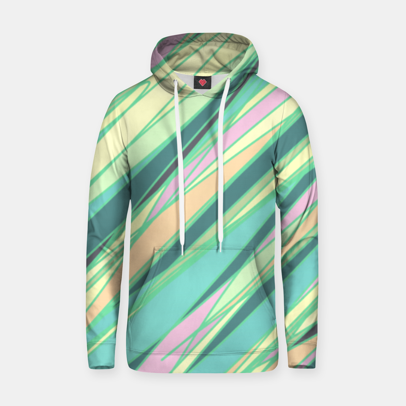 Foto Pencil scratches colorful print, vibrant colors, summer design Hoodie - Live Heroes