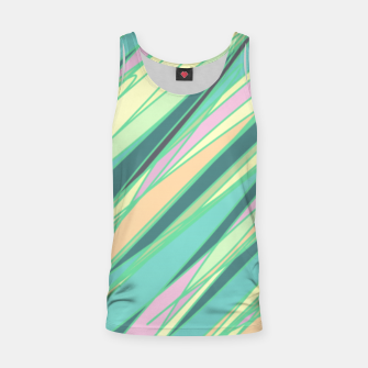 Thumbnail image of Pencil scratches colorful print, vibrant colors, summer design Tank Top, Live Heroes