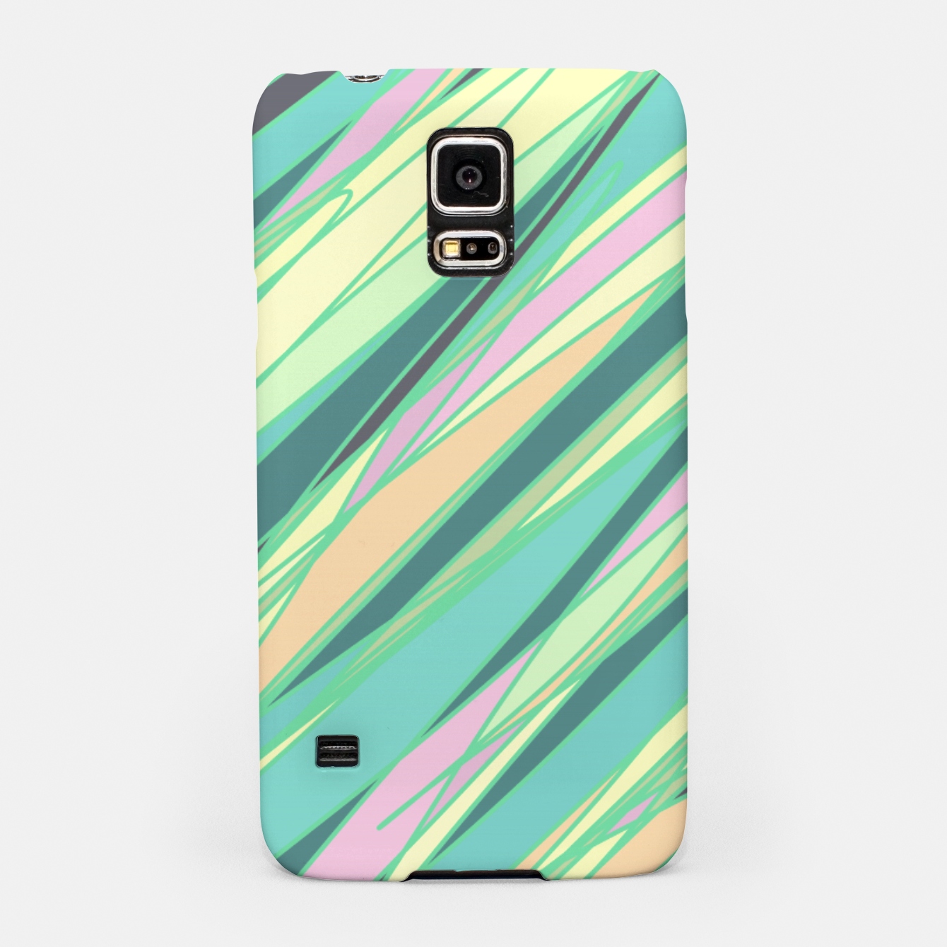 Image of Pencil scratches colorful print, vibrant colors, summer design Samsung Case - Live Heroes