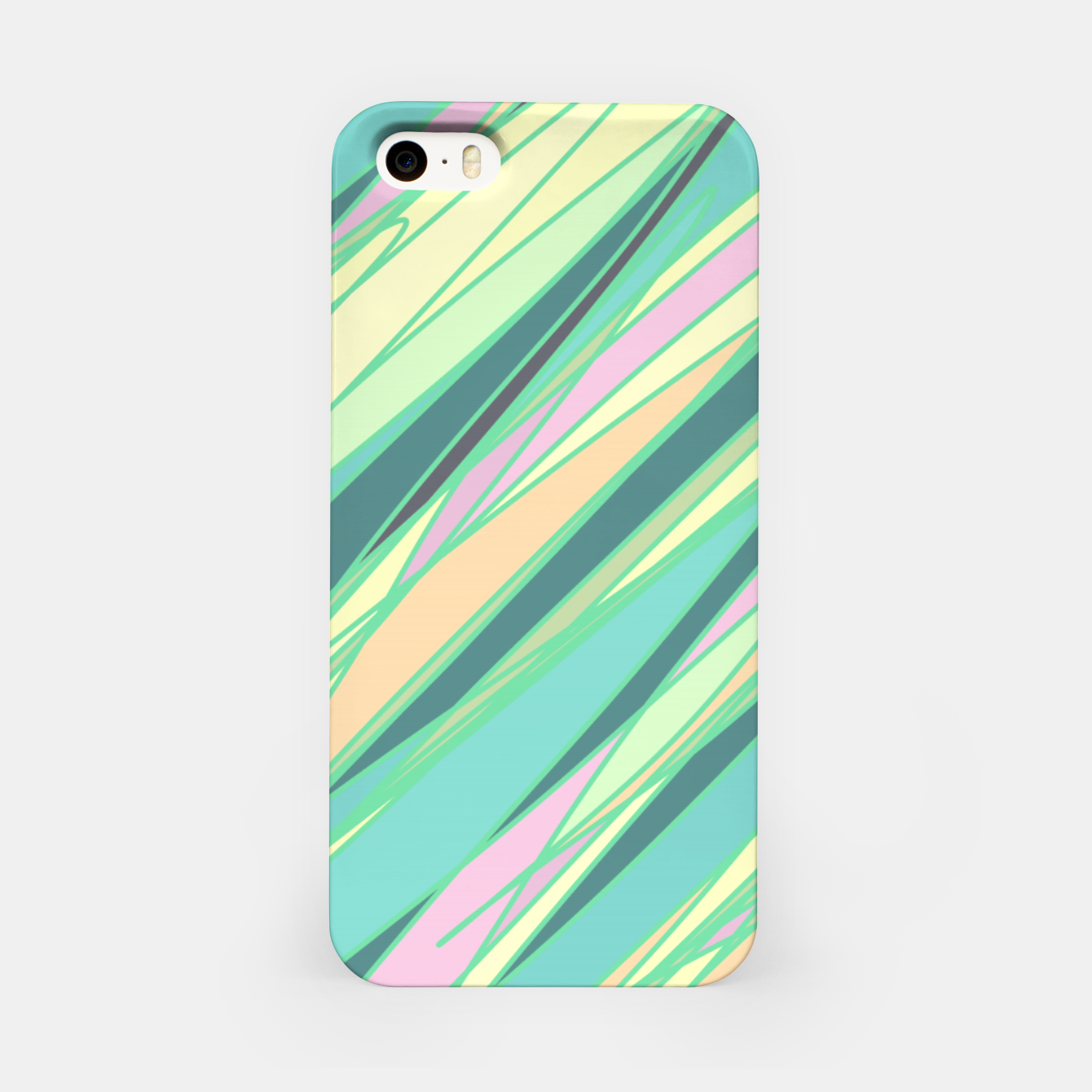 Image of Pencil scratches colorful print, vibrant colors, summer design iPhone Case - Live Heroes