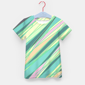 Thumbnail image of Pencil scratches colorful print, vibrant colors, summer design Kid's t-shirt, Live Heroes