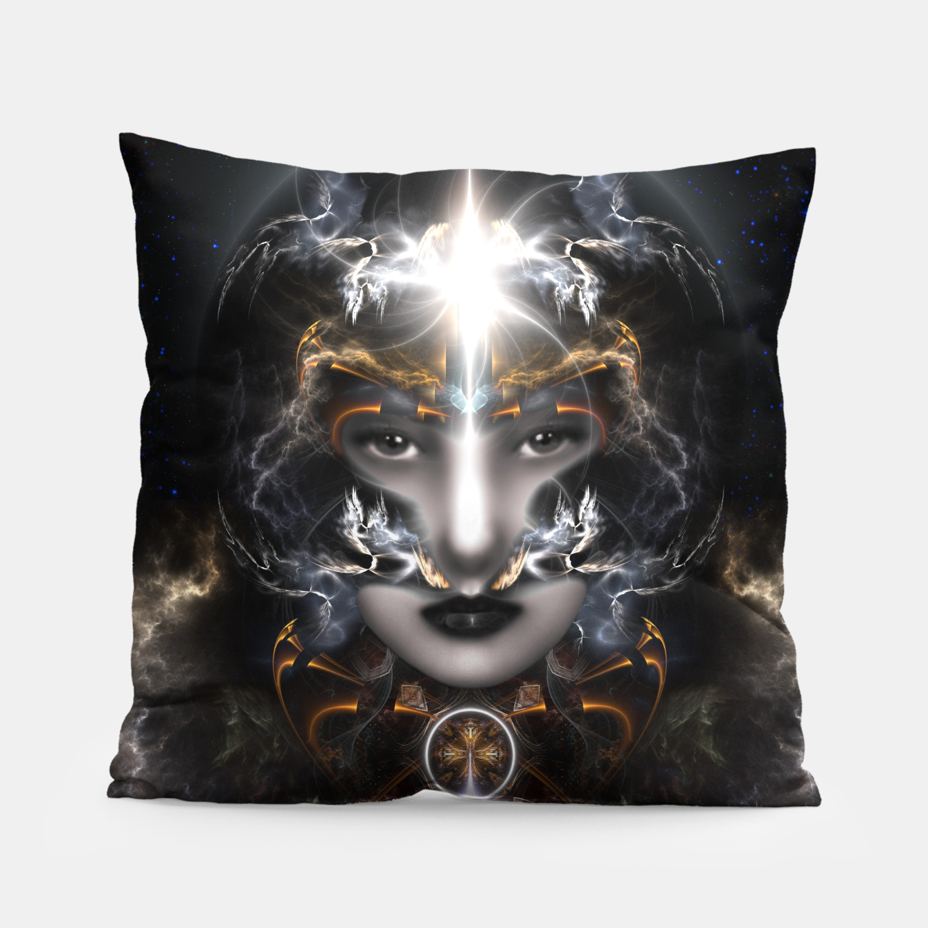 Image of Goddess Of The Black Moon V3 Pillow - Live Heroes