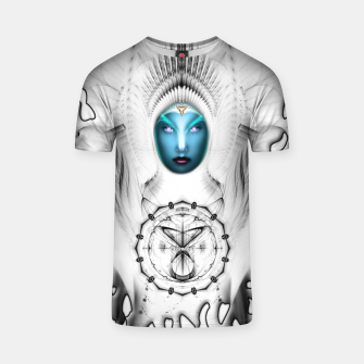 Thumbnail image of Riddian Queen Angel White SPL On White  T-shirt, Live Heroes