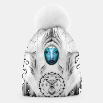 Thumbnail image of Riddian Queen Angel White SPL On White  Beanie, Live Heroes