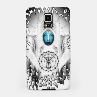 Thumbnail image of Riddian Queen Angel White SPL On White  Samsung Case, Live Heroes