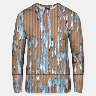 Thumbnail image of Corrugated old painted Unisex sweater, Live Heroes