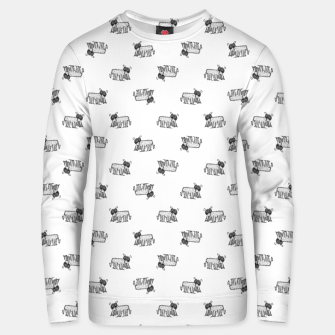 Thumbnail image of Funny Monster Feline Drawing Motif Pattern Unisex sweater, Live Heroes