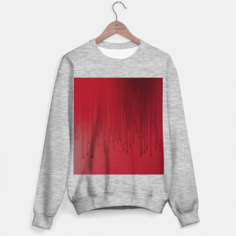 Thumbnail image of Red drip Sweater regular, Live Heroes