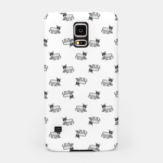 Thumbnail image of Funny Monster Feline Drawing Motif Pattern Samsung Case, Live Heroes