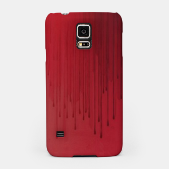 Thumbnail image of Red drip Samsung Case, Live Heroes