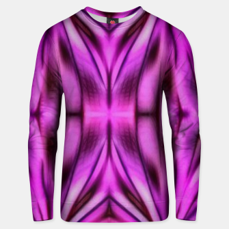 Miniatur Abstract purple shapes Unisex sweater, Live Heroes
