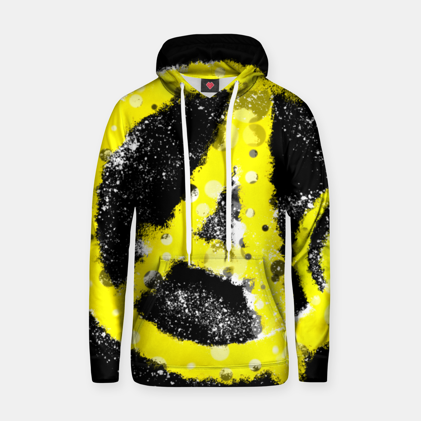 Image of Anarchy yellow Kapuzenpullover - Live Heroes