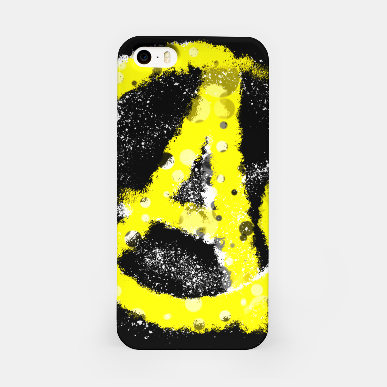 Image of Anarchy yellow iPhone-Hülle - Live Heroes