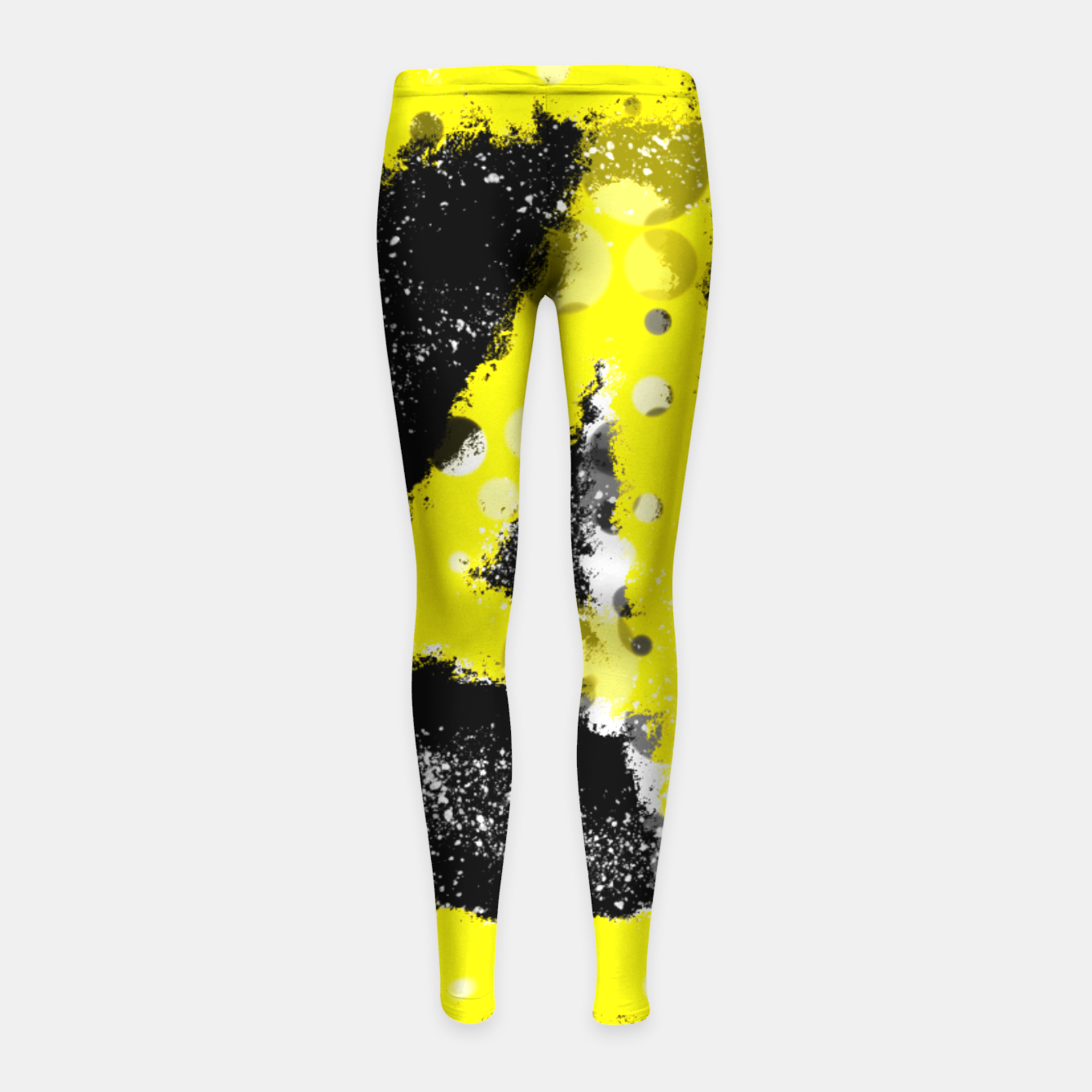 Image of Anarchy yellow Kinder-Leggins - Live Heroes