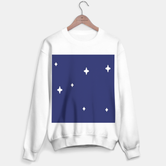Thumbnail image of Space background print Sweater regular, Live Heroes
