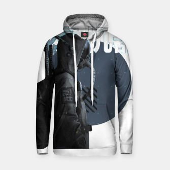 Thumbnail image of Gas Mask Japanese Cyberpunk Urban Futurist Style Soldier Sudadera con capucha, Live Heroes