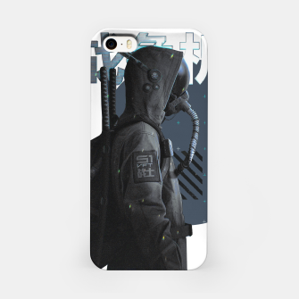 Thumbnail image of Gas Mask Japanese Cyberpunk Urban Futurist Style Soldier Carcasa por Iphone, Live Heroes