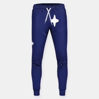 Thumbnail image of Space background print Sweatpants, Live Heroes