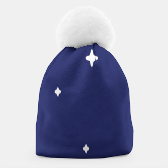 Thumbnail image of Space background print Beanie, Live Heroes