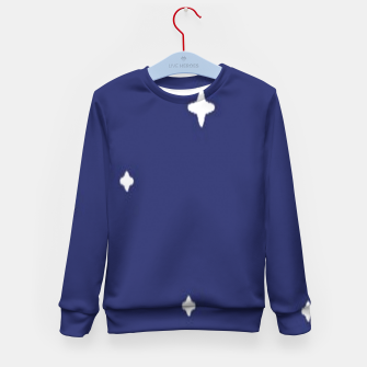 Thumbnail image of Space background print Kid's sweater, Live Heroes