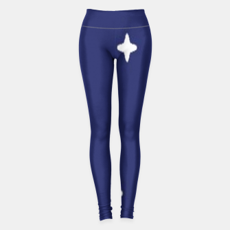 Thumbnail image of Space background print Leggings, Live Heroes