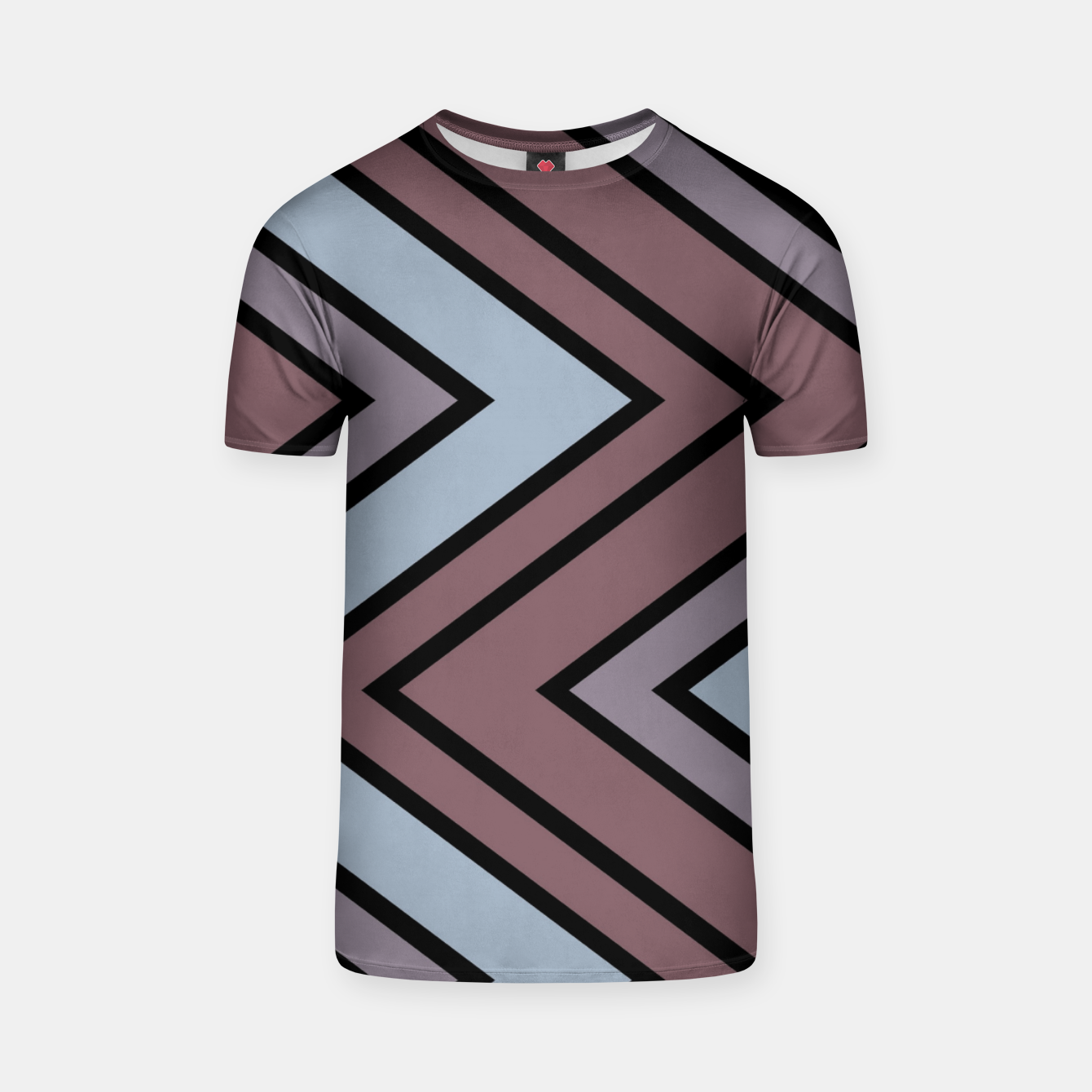 Image of Zigazag purple and blue T-shirt - Live Heroes