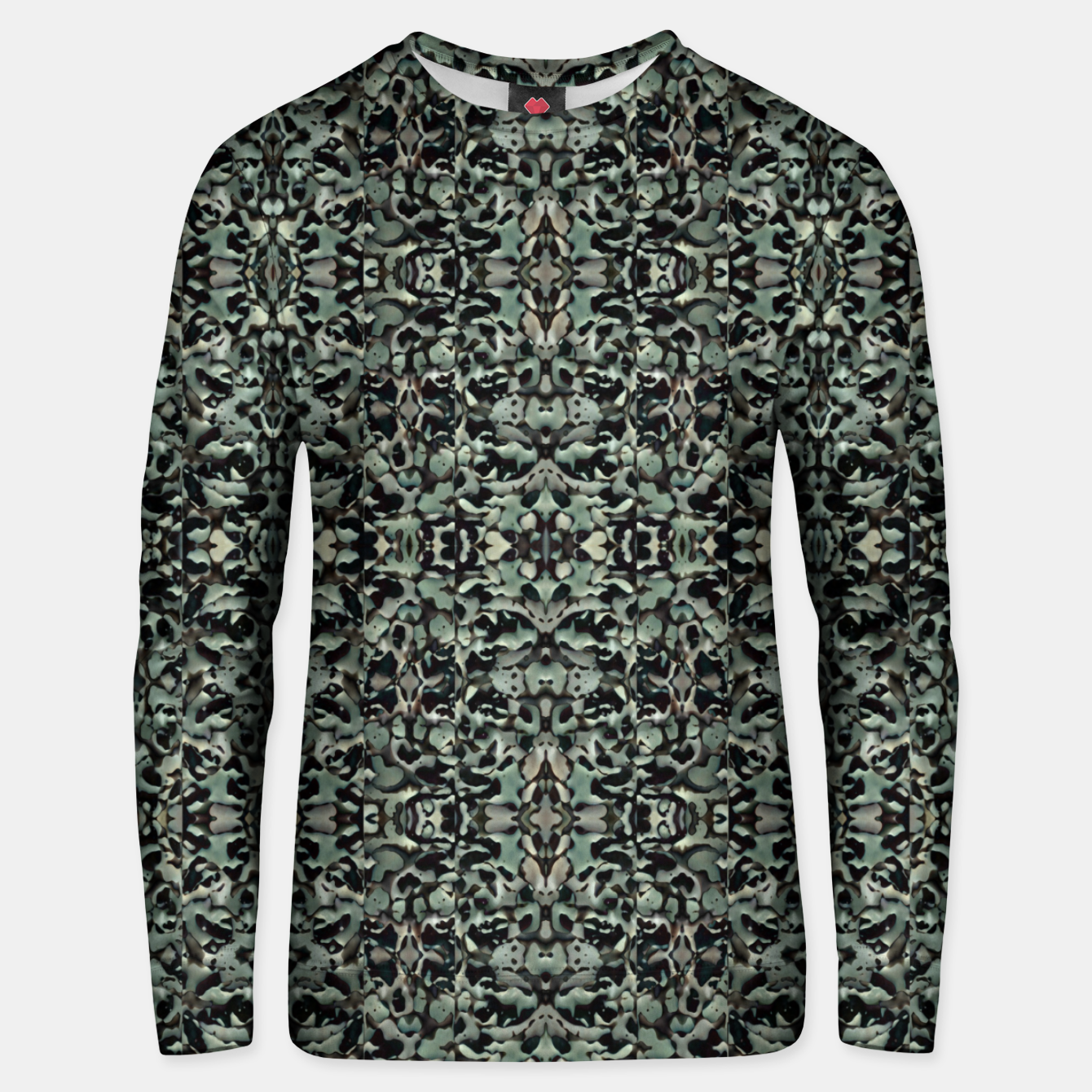 Image of Chic Camo Abstract Print Unisex sweater - Live Heroes