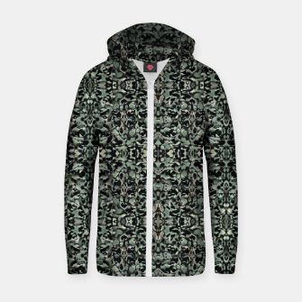 Thumbnail image of Chic Camo Abstract Print Zip up hoodie, Live Heroes