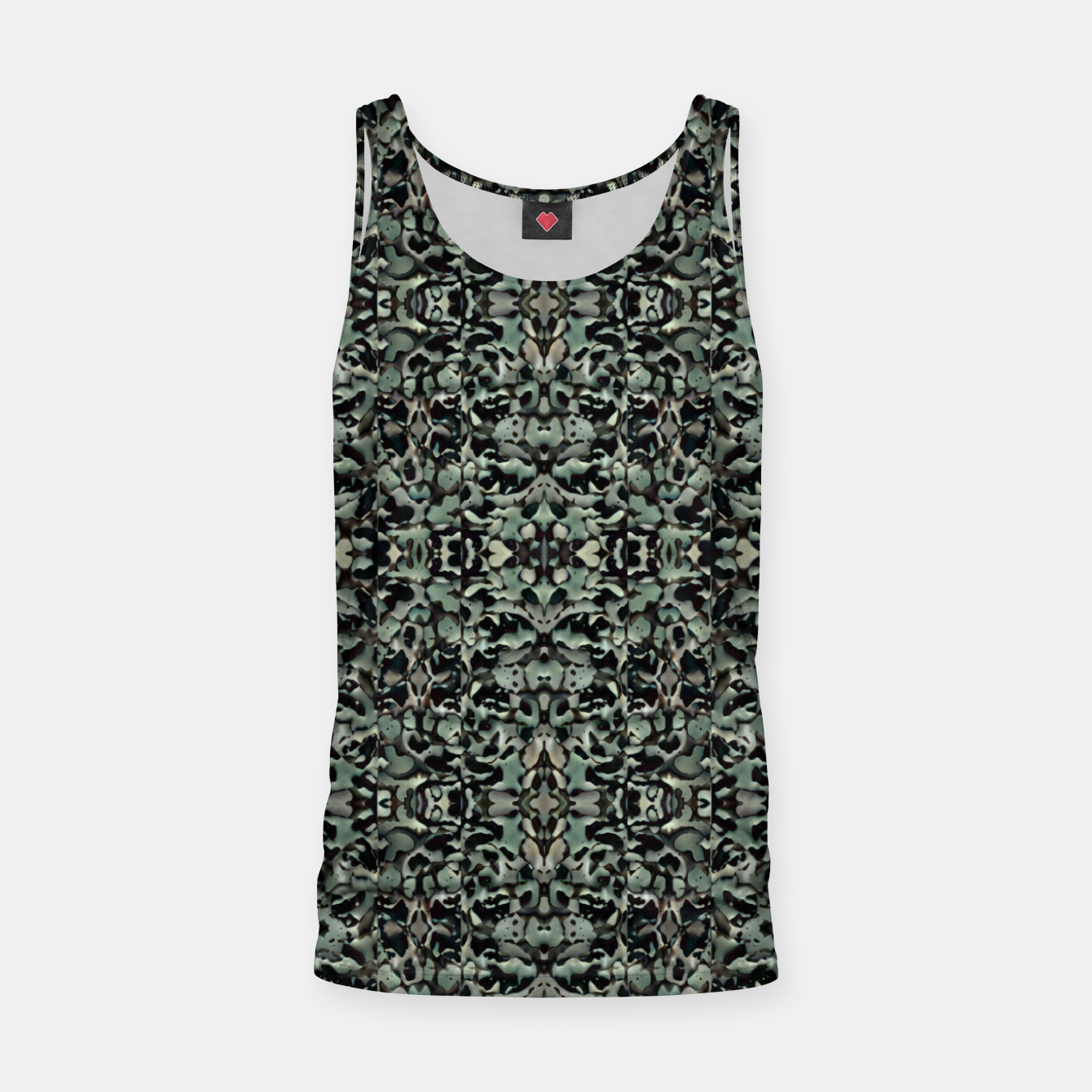 Image of Chic Camo Abstract Print Tank Top - Live Heroes