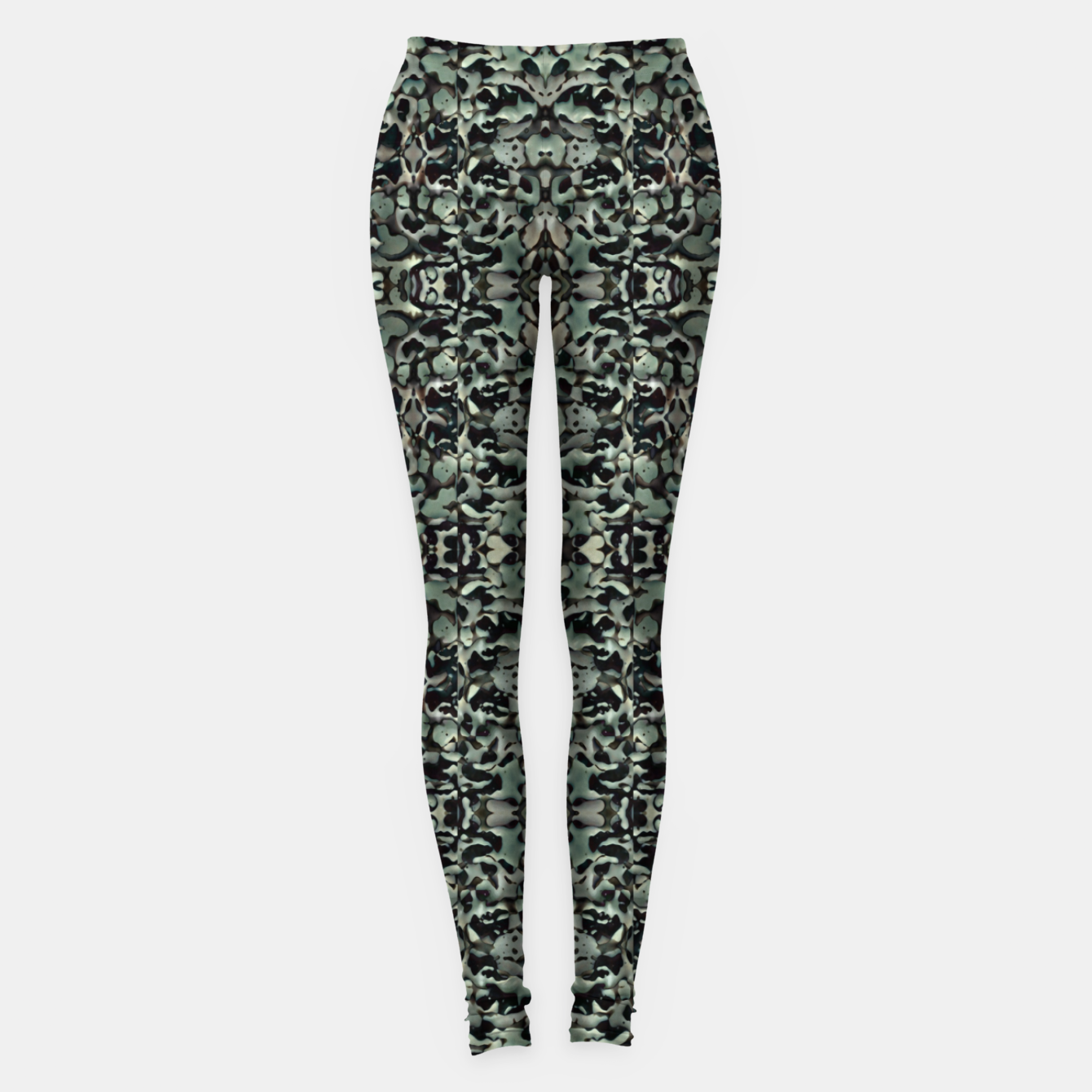 Image of Chic Camo Abstract Print Leggings - Live Heroes