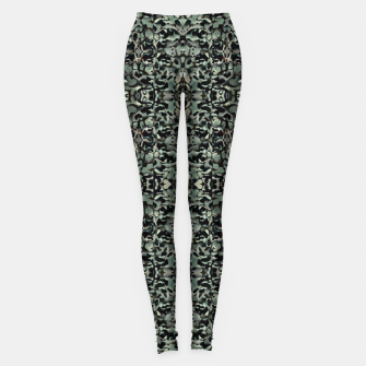 Thumbnail image of Chic Camo Abstract Print Leggings, Live Heroes