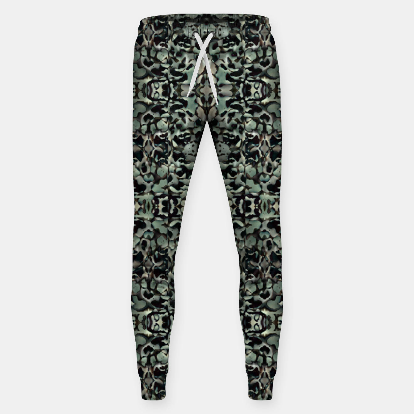 Image of Chic Camo Abstract Print Sweatpants - Live Heroes