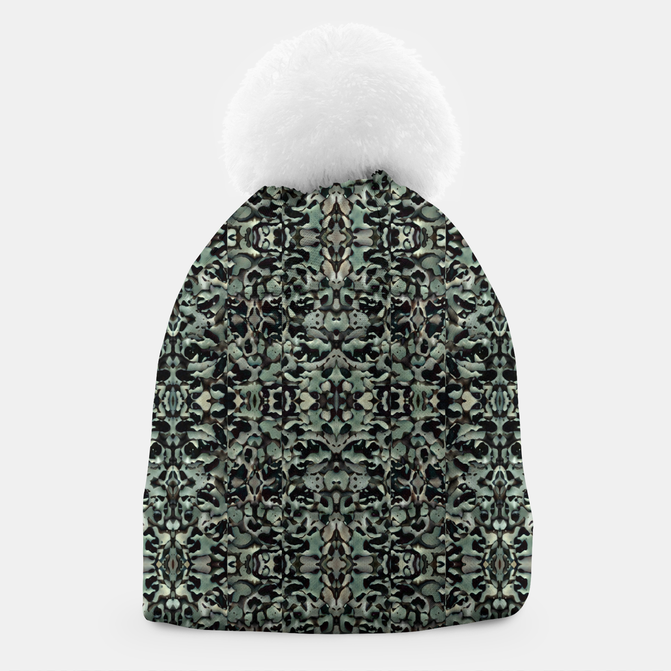 Image of Chic Camo Abstract Print Beanie - Live Heroes