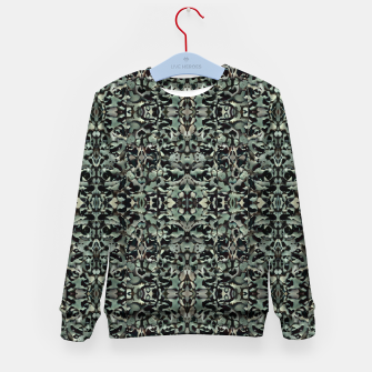 Thumbnail image of Chic Camo Abstract Print Kid's sweater, Live Heroes