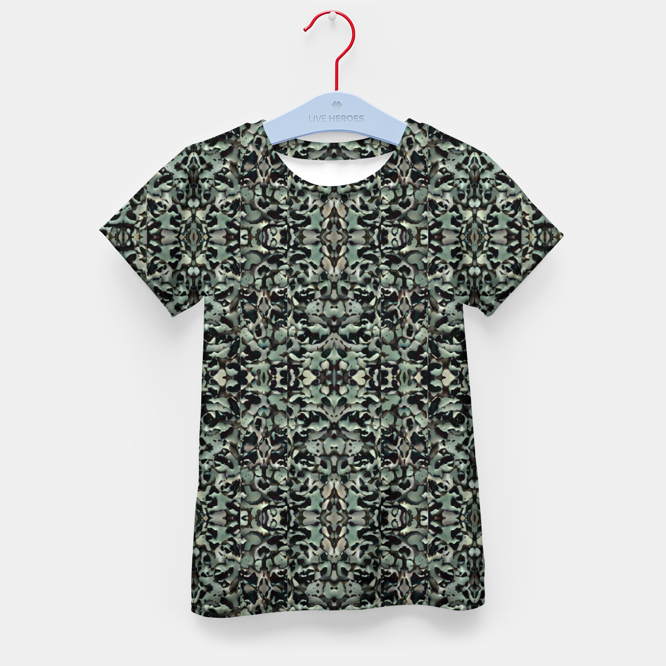 Image of Chic Camo Abstract Print Kid's t-shirt - Live Heroes
