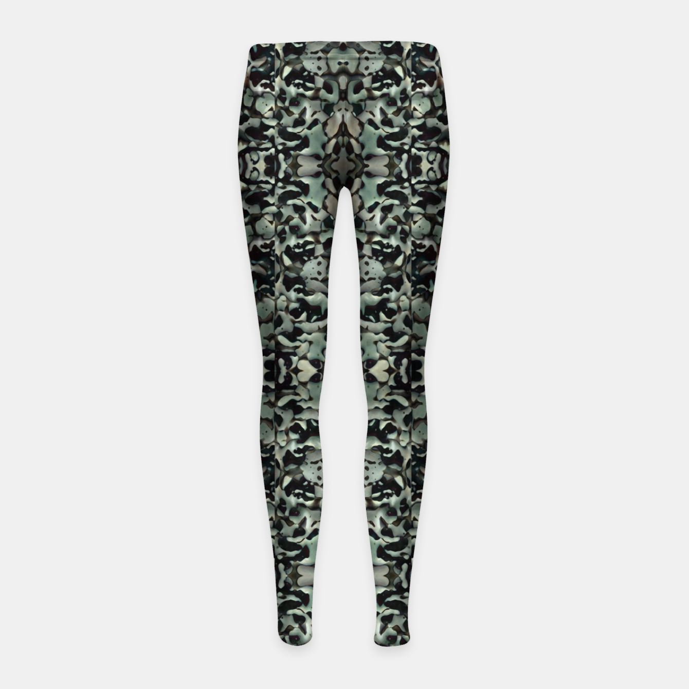 Image of Chic Camo Abstract Print Girl's leggings - Live Heroes