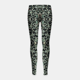 Thumbnail image of Chic Camo Abstract Print Girl's leggings, Live Heroes